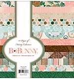BoBunny Felicity - Paper Pad 6x6 36pk (12 Designs 3 Each, Single-Sided)
