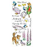 Beatrix Potter Unmounted Stamps - Jemima Puddle-Duck