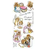 Beatrix Potter Unmounted Stamps - Two Bad Mice