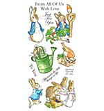 SO: Beatrix Potter Unmounted Stamps - Peter Rabbit