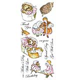 Beatrix Potter Unmounted Stamps - Mrs Tiggy-Winkle