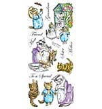Beatrix Potter Unmounted Stamps - Tom Kitten
