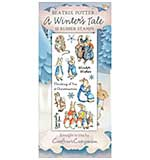 SO: Beatrix Potter Unmounted Stamps - A Winter's Tale Stamp