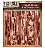 Crafters Companion - Wood Grain Textures (8 x 8 Embossing Folder)