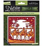 Crafters Companion - We Three Kings (Diesire Christmas Create-a-Card Metal Die)