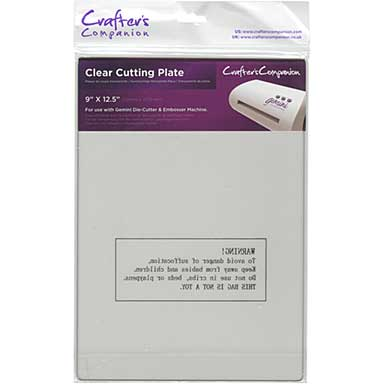 SO: Gemini Cutting Plate - Clear 9 x 12.5