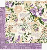 SO: Graphic 45 12x12 Paper Time to Flourish - May Flourish