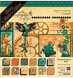 Graphic 45 Deluxe Collectors Edition Pack 12x12 - Steampunk Debutante