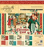 Graphic 45 Double-Sided Paper Pad 12x12 24pk - A Christmas Carol, 3 each of 8 Designs