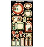 A Christmas Carol Chipboard Die-Cuts 6x12 Sheet - Journaling