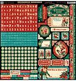 SO: A Christmas Carol Cardstock Stickers 12x12