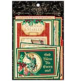 SO: A Christmas Carol Ephemera Cards 32pk - 4x6 and 3x4