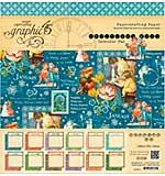 Graphic 45 Calendar Pad 12x12 24pk - Childrens Hour