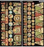 PRE: Graphic 45 Safari Adventure - Banners 2pk (6x12 Die-Cut Cardstock Sheets)