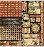 PRE: Graphic 45 Safari Adventure - Cardstock Stickers 12x12
