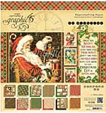 SO: Graphic 45 Double-Sided Paper Pad 12x12 24pk - St Nicholas