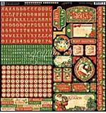 St Nicholas Cardstock Stickers 12x12