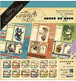 Graphic 45 Deluxe Collectors Edition Pack 12x12 - Place In Time - Undated Calender Designs