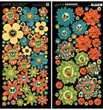 Nature Sketchbook Cardstock Die-Cuts 6x12 Sheets 2pk - Flowers