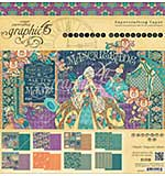 SO: Graphic 45 Double-Sided Paper Pad 12X12 24pk - Midnight Masquerade, 8 Designs