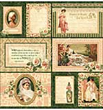 Portrait of a Lady Journaling and Ephemera Cards - (16) 4X6 and (16) 3X4