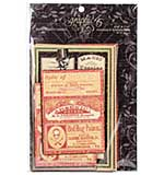 Graphic 45 Master Detective Journaling and Ephemera Cards