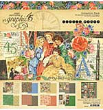 Graphic 45 Little Women Collection Pack 12x12