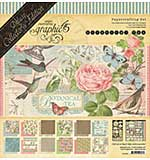PRE: Graphic 45 Botanical Tea Deluxe Collectors Edition Pack 12x12