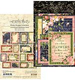 SO: Graphic 45 Floral Shoppe Journaling and Ephemera Cards 32pk (4x6 and 3x4)