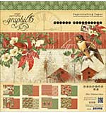 Graphic 45 Winter Wonderland 12x12 Double-Sided Paper Pad, 24pk (8 Designs)