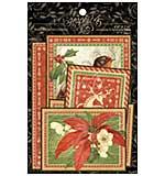 Graphic 45 Winter Wonderland Journaling and Ephemera Cards 32pk (4x6 and 3x4)