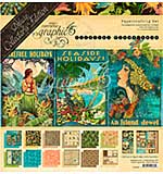PRE: Graphic 45 Tropical Travelogue - Deluxe Collector's Edition Pack 12x12