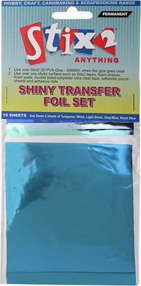 SO: Stix 2 - Shiny Decorative Transfer Foil - Set #2 (10PK)