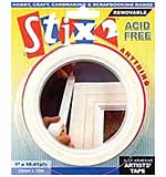 SO: Stix 2 Self-Adhesive Artists Tape - 25mm x 16m (Acid Free Removable)