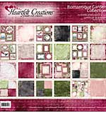 Heartfelt Double-Sided Paper Collection 12x12 24pk - Romantique Garden, 12 Designs-2 Each