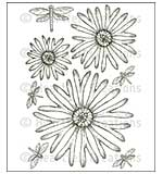 Heartfelt Creations Cling Rubber Stamp Set 5x6.5 - Enchanted Mum