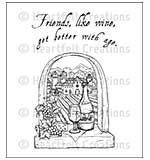 Heartfelt Creations Cling Rubber Stamp Set 5x6.5 - Italiana Riviera
