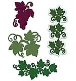 Heartfelt Creations Cut and Emboss Dies - Italiana Grapevines