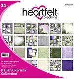 Heartfelt Double-Sided Paper Pad 12x12 24pk - Italiana Riviera