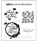 Heartfelt Creations Cling Rubber Stamp Set 5x6.5 - The Perfect Blend