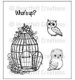 Heartfelt Creations Cling Rubber Stamp Set 5x6.5 - Sugar Hollow Bungalow