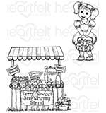 PRE: Heartfelt Creations - Berry Cafe (BB16 Cling Rubber Stamp Set)