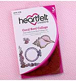 Heartfelt Creations - Coral Reef Collage (US16 Cling Rubber Stamp Set)
