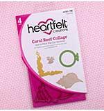 Heartfelt Creations - Coral Reef Collage Die (US16 Cut and Emboss Dies)