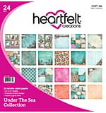 SO: Heartfelt Creations - Under the Sea Paper Pad 12x12 Double-Sided (US16) 24pk