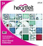 SO: Heartfelt Creations Double-Sided Paper Pad 12x12 24pk - Snow Kissed, 12 Designs, 2 Each (SK16)