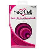 Heartfelt Creations - Eyelet Circle and Basics Small - Cut and Emboss Dies