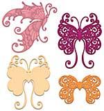 Heartfelt Creations - Fluttering Butterfly - Cut and Emboss Dies