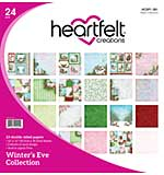 Heartfelt Creations - Winters Eve Double-Sided Paper Pad 12X12, 24pk