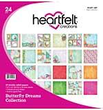 Heartfelt Creations - Butterfly Dreams Double-Sided Paper Pad 12X12, 24pk